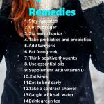 A smiling woman wearing a winter coat in the cold, 17 quick cold remedies