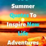 "Sunset on the beach, ""Summer Quotes To Inspire New Life Adventures"""