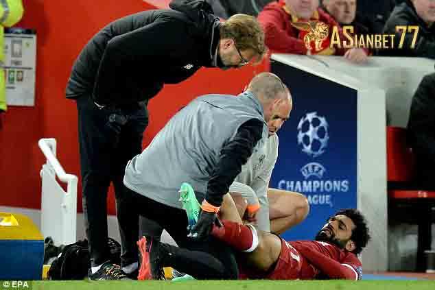 Mohamed Salah Mengalami Cedera - Sabung Ayam Online