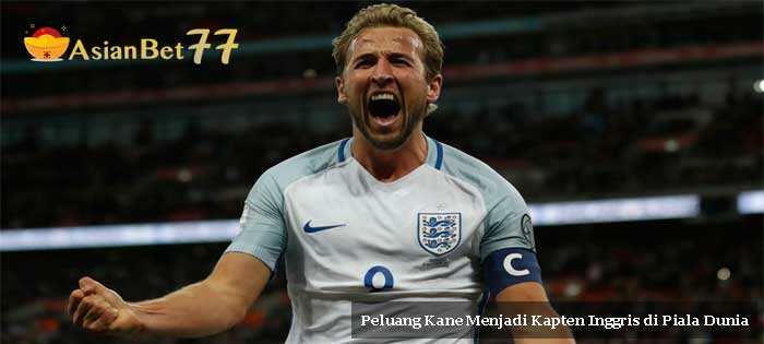 Peluang Kane Menjadi Kapten Inggris di Piala Dunia - Agen Bola Piala Dunia 2018