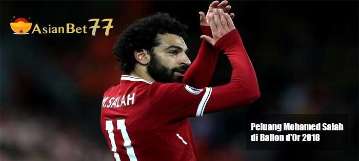 Peluang Mohamed Salah di Ballon dOr 2018 - Agen Bola Piala Dunia 2018