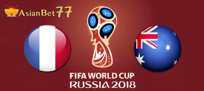 Prediksi Piala Dunia 2018 Prancis vs Australia - Agen Bola Piala Dunia 2018