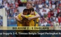 Bekap Inggris 2-0, Timnas Belgia Segel Peringkat Ketiga Agen Bola Piala Dunia 2018