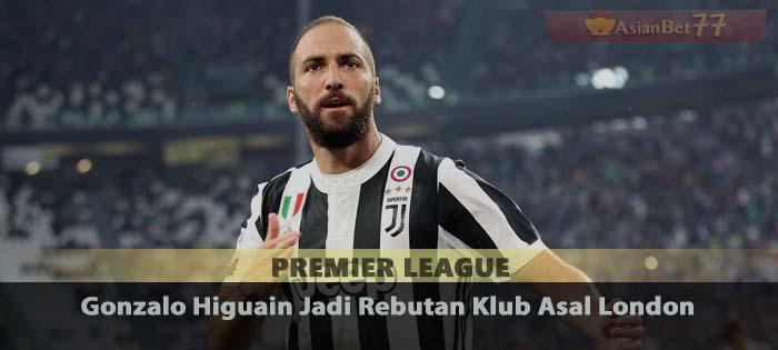Gonzalo Higuain Jadi Rebutan Klub Asal London Sabung Ayam Online
