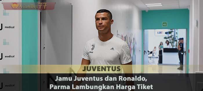 Jamu Juventus dan Ronaldo, Parma Lambungkan Harga Tiket Sabung Ayam Online