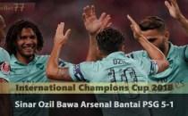 Sinar Ozil Bawa Arsenal Bantai PSG 5-1 Sabung Ayam Online