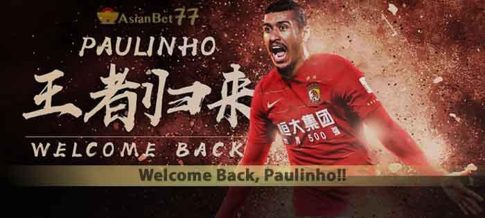 Welcome Back, Paulinho!! Agen Bola Piala Dunia 2018