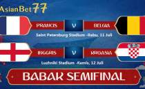Daftar Empat Negara ke Semifinal Piala Dunia - Agen Bola Piala Dunia 2018