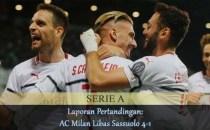 Laporan Pertandingan AC Milan Libas Sassuolo 4-1 Agen bola online