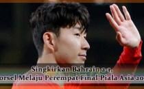 Singkirkan Bahrain 2-1, Korsel Melaju Perempat Final Piala Asia 2019 Agen bola online