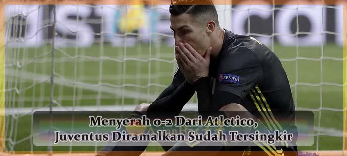 Menyerah 0-2 Dari Atletico, Juventus Diramalkan Sudah Tersingkir Agen bola online