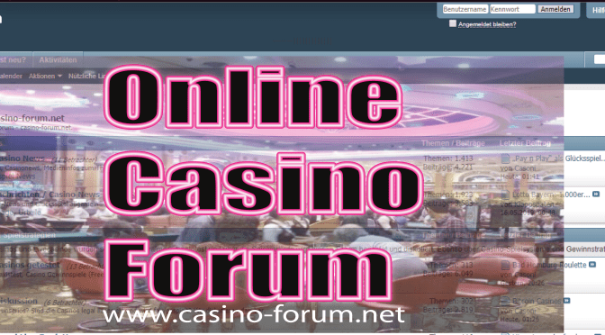 Things You Should Know About Casino Forum Online
