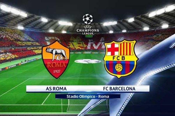 Prediksi Pertandingan Sepakbola Liga Champions AS Roma vs Barcelona