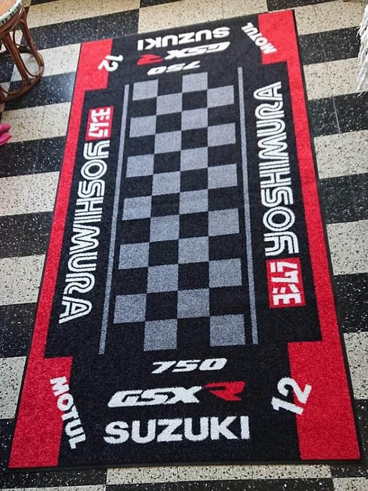 tapis de sol moto environnemental
