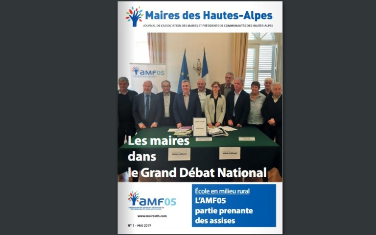 Un magazine pour les maires des Hautes-Alpes