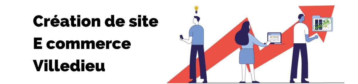 Bannière de la page création de site E commerce de l'agence rt