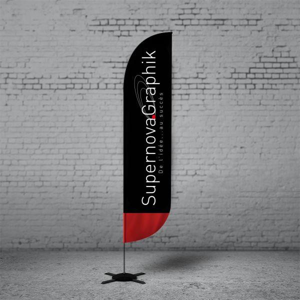 3ème offre d'anniversaire – Drapeau Beach flag à prix cadeau