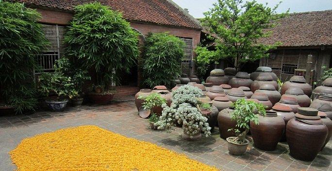 Visite village ancient Duong Lâm Hanoi