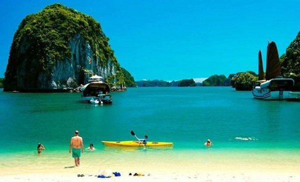Circuit Quang Ninh, decouverte Baie d'Along