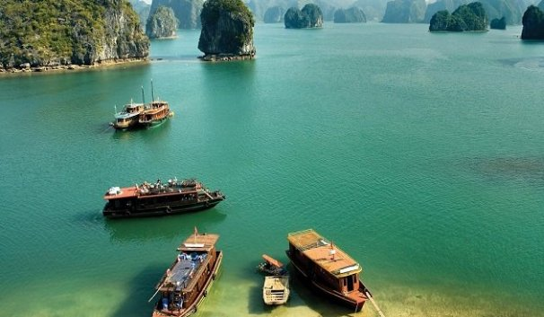 Circuit Quang Ninh, decouverte plage tuan chau
