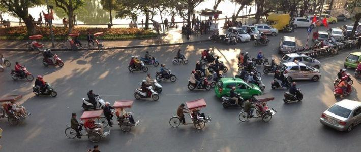 Les transports au Vietnam