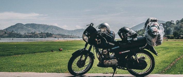 voyage à moto au nord du Vietnam