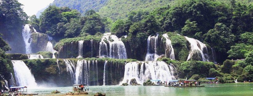 Chutes de Ban Gioc voyage au Vietnam en moto