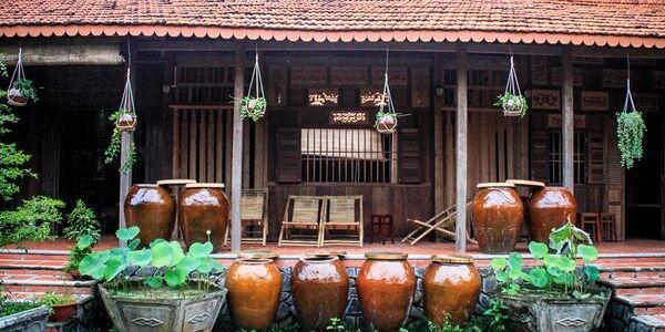Chez l'habitant au Vietnam au delta du Mékong