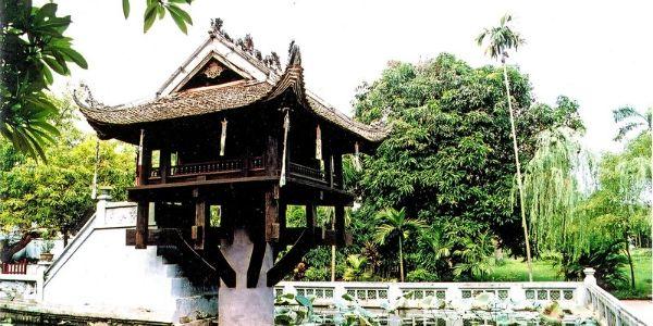 pagode au Pilier Unique Hanoi