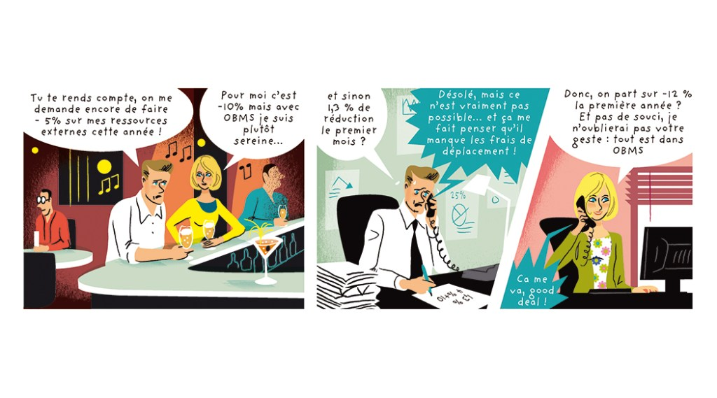 communication BD marketing produit