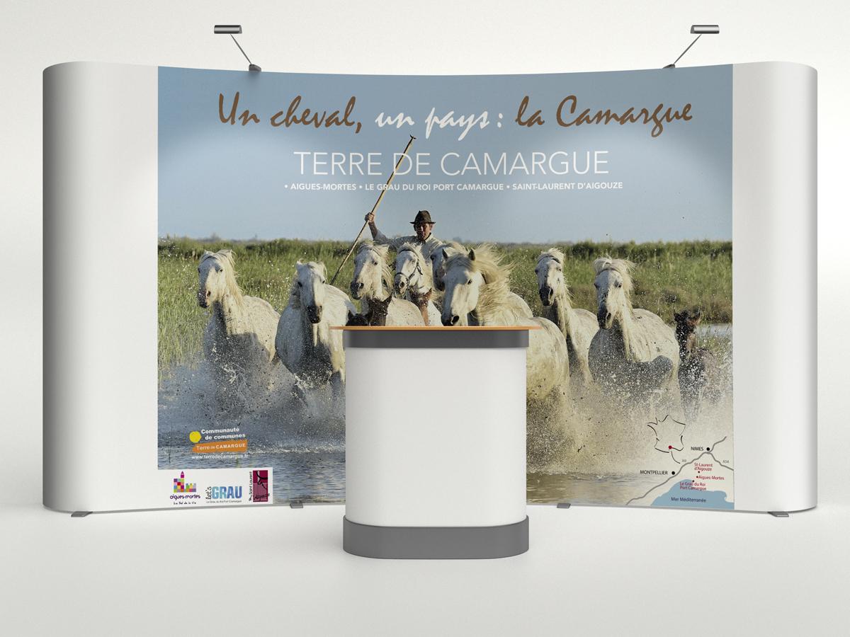 STAND PARAPLUIE POUR LE SALON DE L'AGRICULTURE