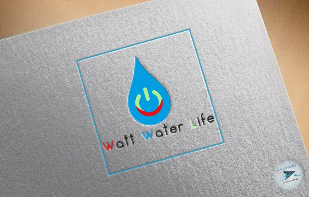 Watt Water Life | Logotype, Agence DECALE