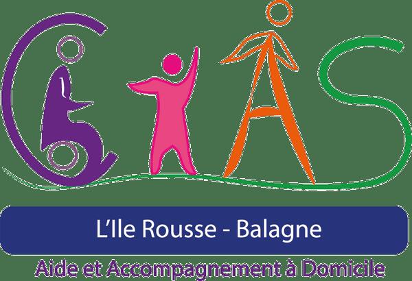 Logotype & déclianaison, CIAS Ile-Rousse, Agence DECALE