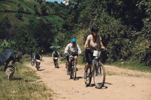 bikers en montée