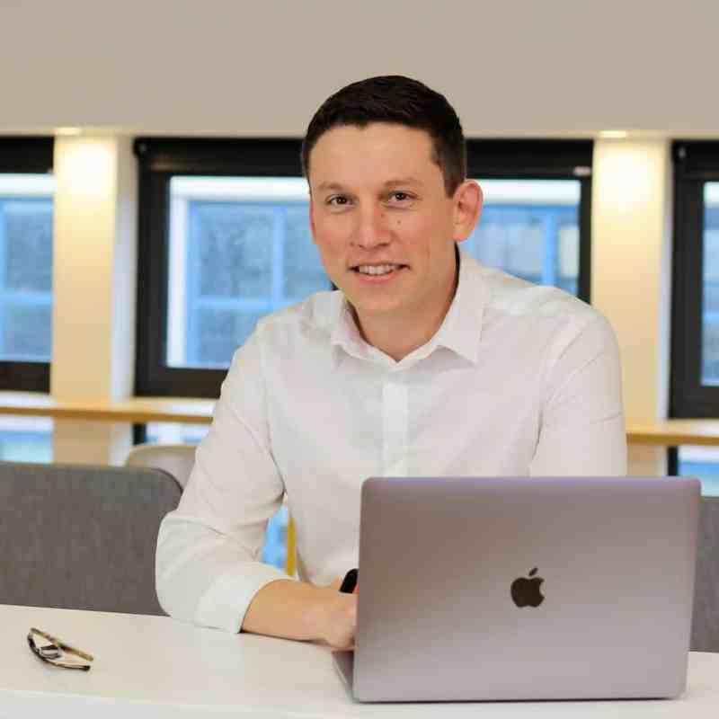 Marc-Antoine Co-fondateur de l'Agence IDEO, communication digitale et print.