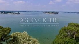 800 TBI Manoir vue mer et accès plage proche Auray