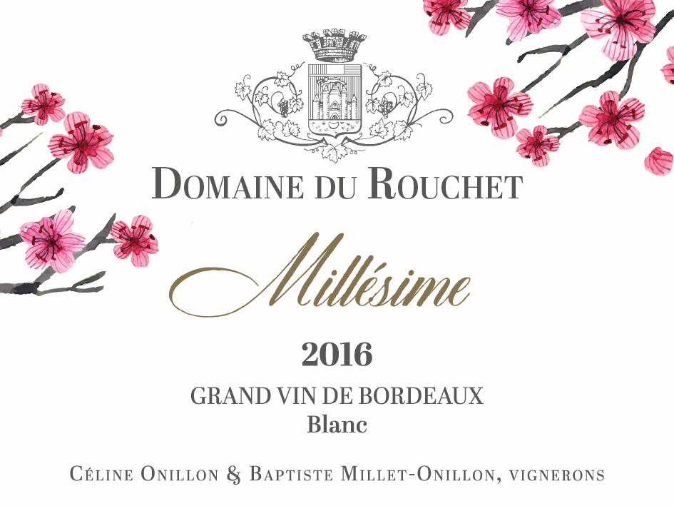 Domaine du Rouchet - Millésime - Blanc