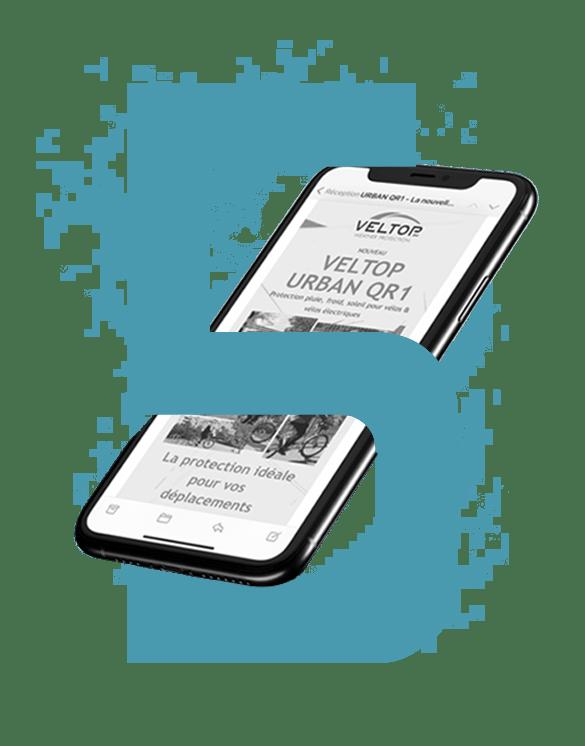 Agence Waves - Mockup offre communication digitale