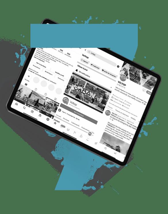Agence Waves - Mockup offre gestion Community Management