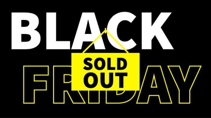 Intet at spare på Black Friday
