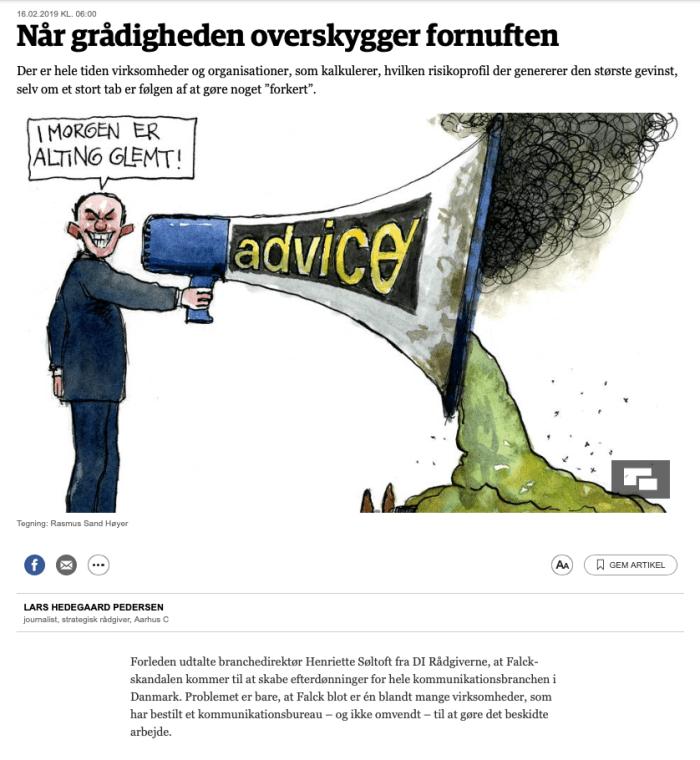 Når grådigheden overskygger fornuften - jp.dk