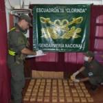 Secuestran 45 kilos de marihuana de un auto robado en Formosa