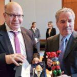 Felipe Solá se reunió con el ministro de Economía de Alemania con quien abordó el plan de Argentina para renegociar con el FMI