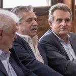 Agustín Rossi propone que Alberto Fernández sea el presidente del PJ