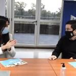 """Luana Volnovich presentó junto a """"Leo Nardini en Malvinas Argentinas el programa del PAMI """"Residencias Cuidadas"""""""