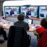 El Presidente Fernández habló con los gobernadores de las provincias con mayores contagios previo al anuncio de prórroga