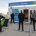 """""""Juanchi"""" Zabaleta inauguró la novena posta policial del distrito de Hurlingham"""