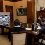 """El Gobernador Kicillof evaluó con intendentes la cuarentena en el AMBA y dijo que el acatamiento es """"alto"""""""