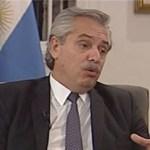 "Presidente Alberto Fernández: ""volvemos a entrar al mundo dignamente"""