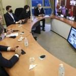 El Presidente Fernández analizó la situación sanitaria de la pandemia con los gobernadores